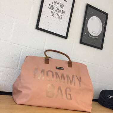 Childhome weekendtas XL Mommy Bag pink