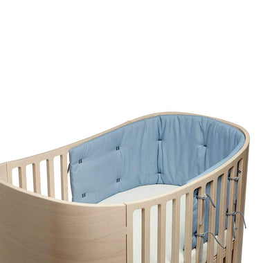 Leander Bedomrander Classic Babybed | Dusty Blue
