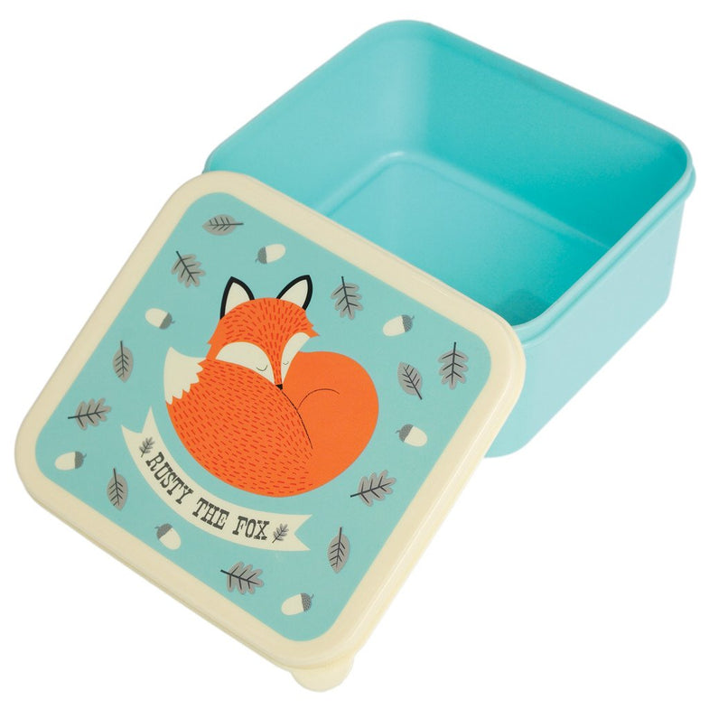 Lunch box - Rusy the fox - DE GELE FLAMINGO - Kids concept store