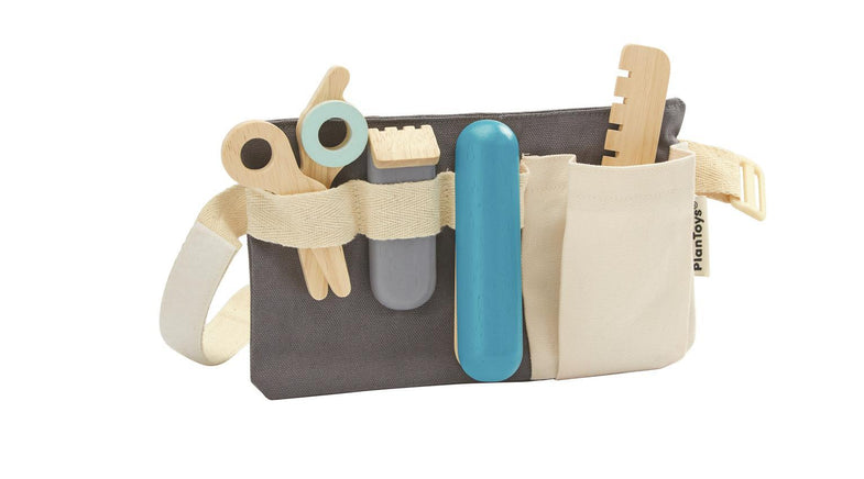 Plantoys super leuke houten Kapper set