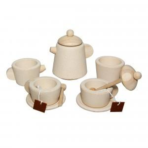 Plantoys houten thee set