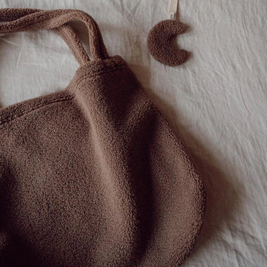 Studio Noos Mom Bag | Brown Chunky Teddy