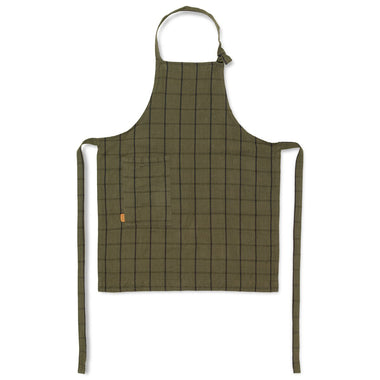 Ferm Living Keukenschort Kids Hale Apron | Green/Black