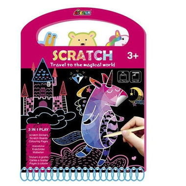 Avenir Scratch Knutselset Kras | Magical World