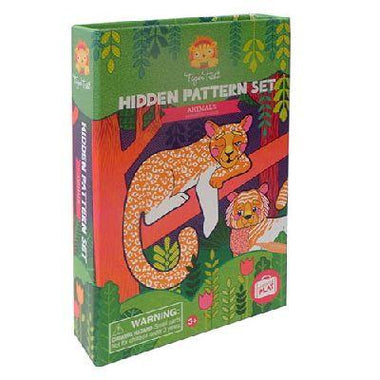 Tiger Tribe meeneem Hidden Pattern Set | Animals