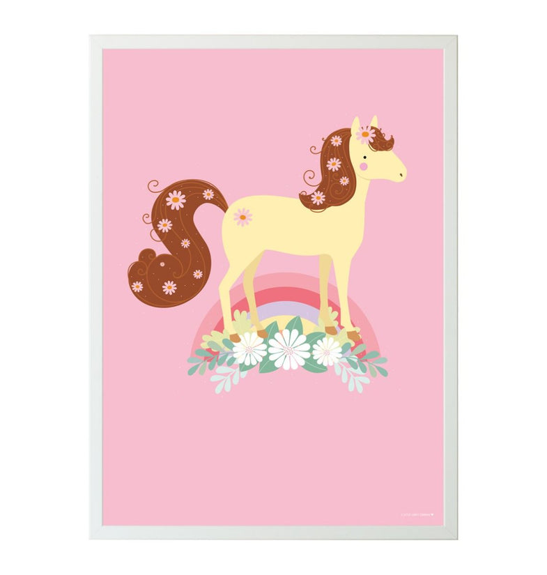 A Little Lovely Company Poster | Lovely Horse