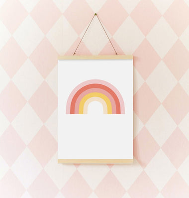 A Little Lovely Company Poster | Rainbow