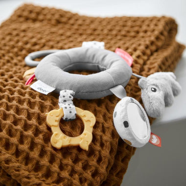 Done By Deer Maxi cosi activity speeltje Ring Grey