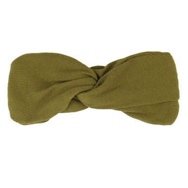 CarlijnQ Twisted Headband | Olive