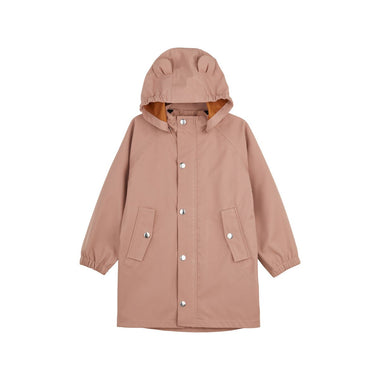 Liewood Blake Long Raincoat | Dark Rose