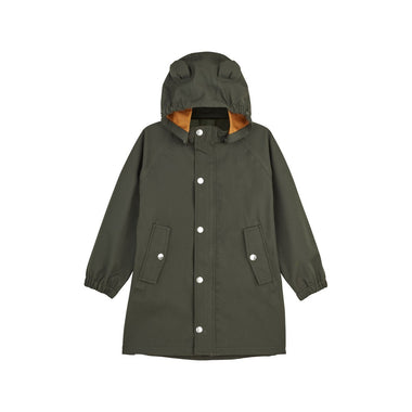 Liewood Blake Long Raincoat | Hunter Green