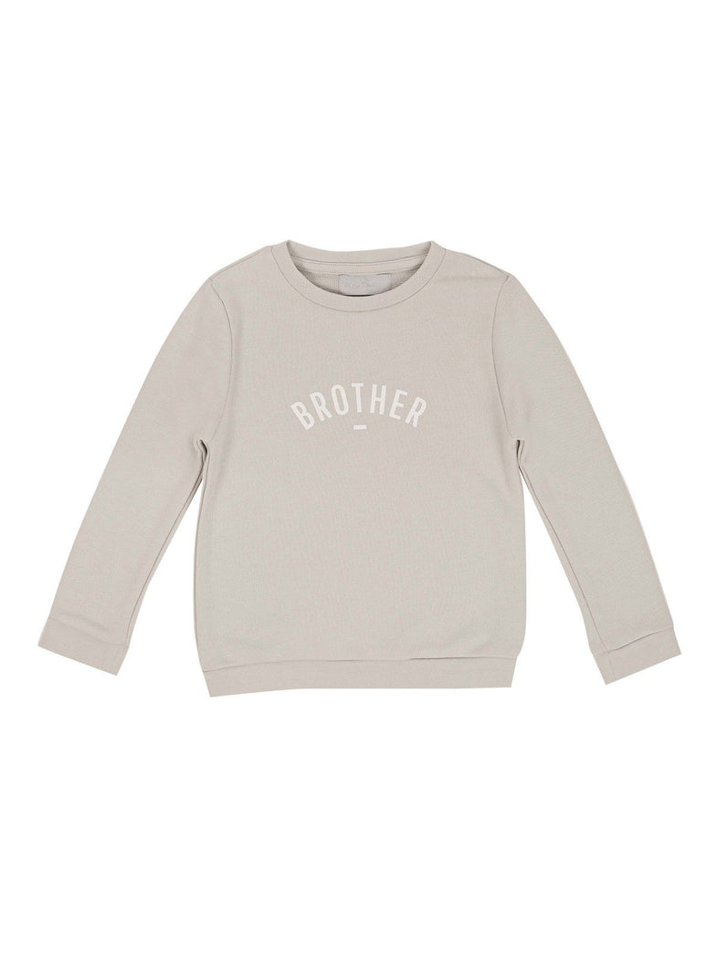 Bob & Blossom sweater Mouse Grey Brother