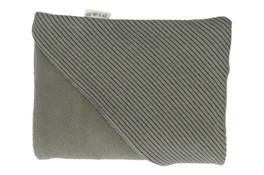 Heart Of Gold Wikkelcape Badcape 100x100cm Claudy | Stripes Shadow