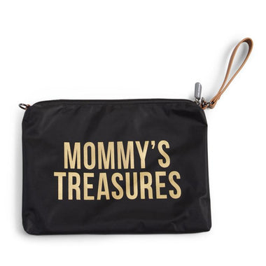 Childhome Mommy toilettas clutch Black Gold