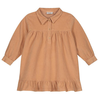 Daily Brat Lilyan Corduroy Dress | Copper Rose