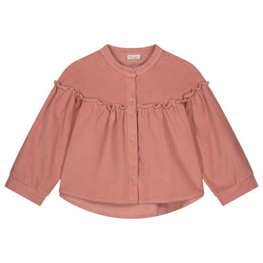 Daily Brat Tara Corduroy Shirt | Light Mahogany