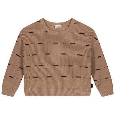 Daily Brat Dawn Knitted Sweater | Pecan