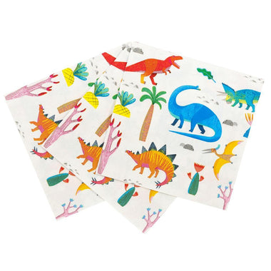 Talking Tables Set 20 papieren servetten Dino