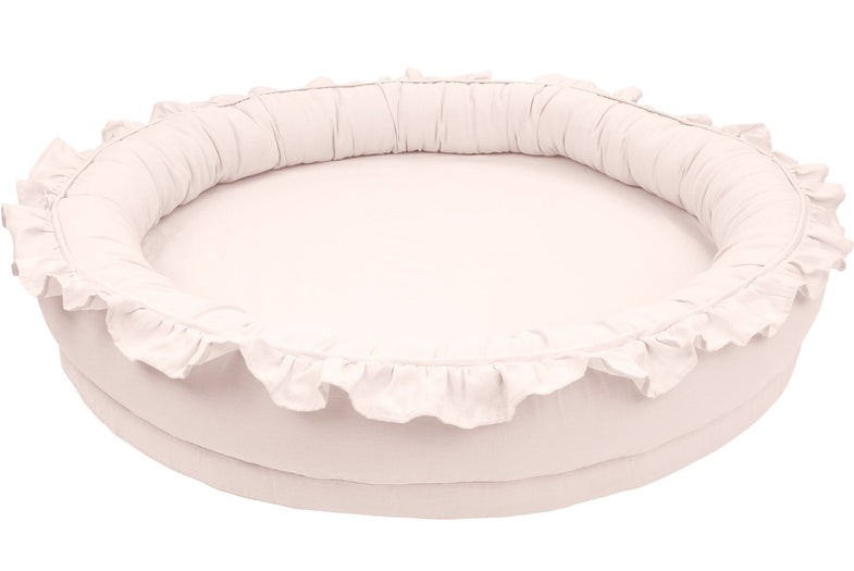 Cotton & Sweets Junior nest 110cm - Powder Pink