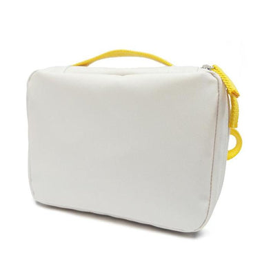 Ekobo - lunchtas gerecycleerde PET flessen - White/Lemon