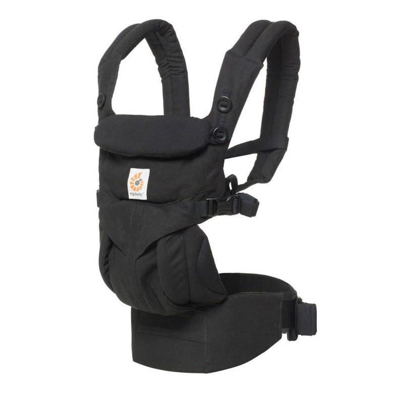 Ergobaby 4 position draagzak 360 OMNI Pure Black