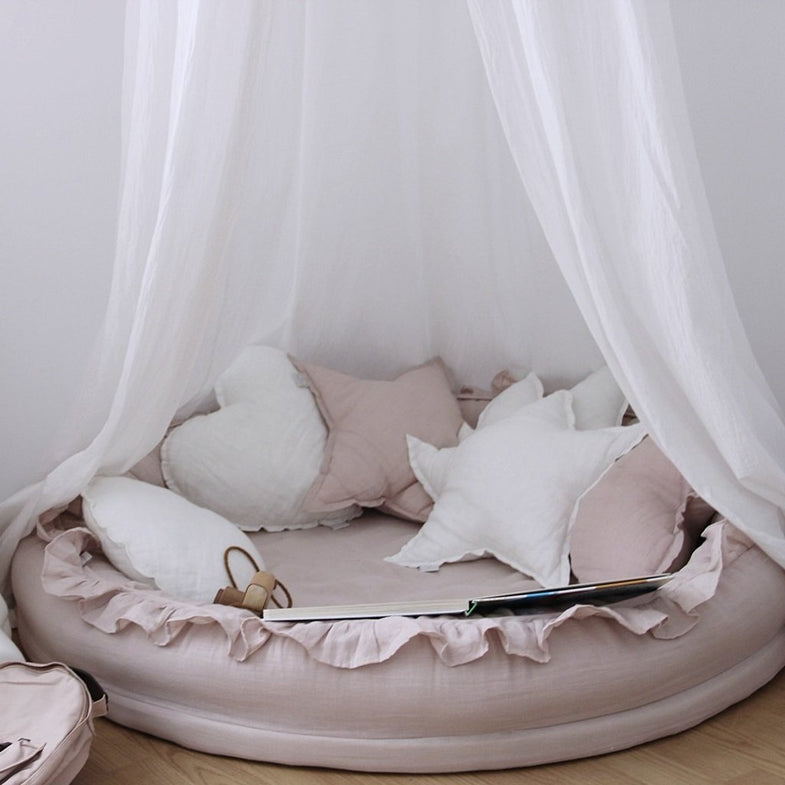 Cotton & Sweets Junior nest 110cm - Dusty Pink