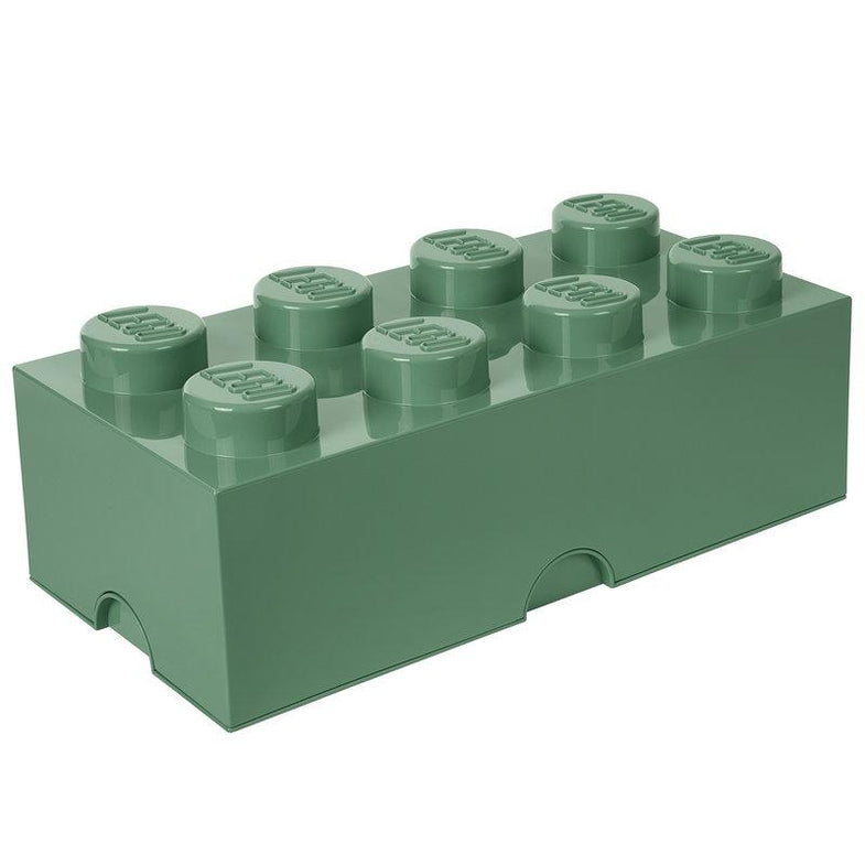 Lego Opbergbox Brick 8 Sand Green
