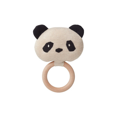 Liewood Aria Rattle | Panda Beige Beauty