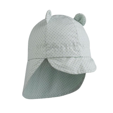 Liewood Gorm Zonnehoedje | Little Dot Dusty Mint