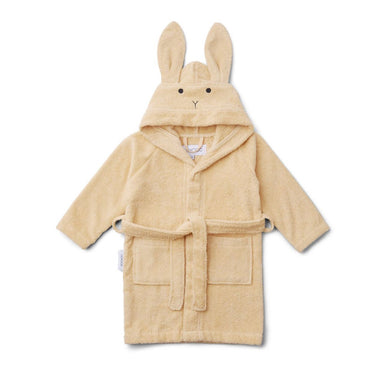 Liewood Lily Bathrobe | Rabbit Smoothie Yellow