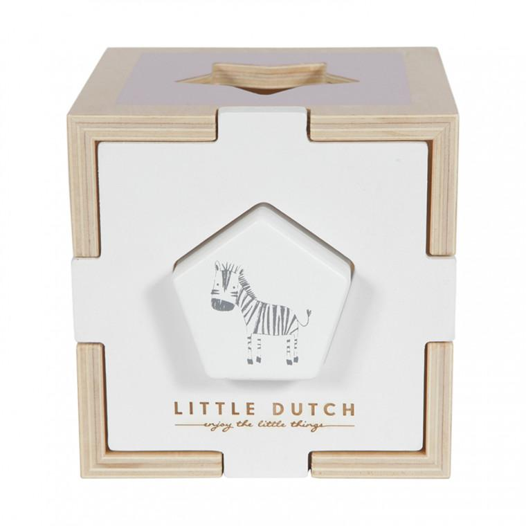 Little Dutch Vormenstoof Dierentuin - Pink
