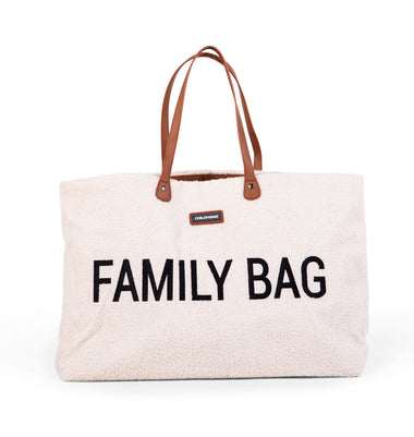 Childhome weekendtas XL Family Bag | Teddy OffWhite