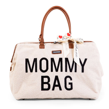 Childhome weekendtas XL Mommy Bag | Teddy OffWhite