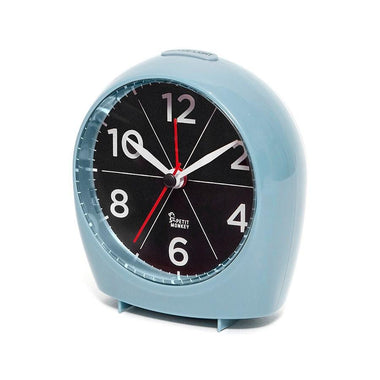 Petit Monkey Alarm Clock Sleepy Wakey | Blue