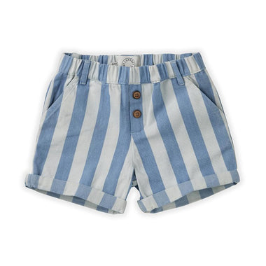 Sproet & Sprout Short | Denim Stripe