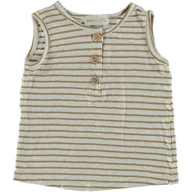 Bean's Whale Striped T-shirt | Camel