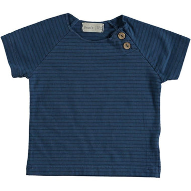 Bean's Clownfish Striped T-shirt | Blue