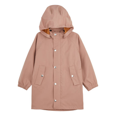 Liewood Spencer Long Raincoat | Dark Rose