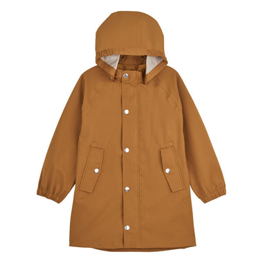 Liewood Spencer Long Raincoat | Mustard