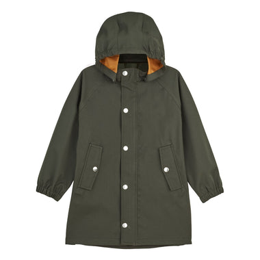 Liewood Spencer Long Raincoat | Hunter Green