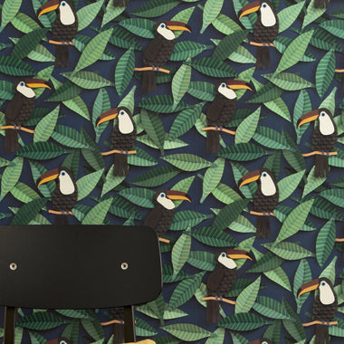 Studio Ditte Behangpapier | Toucan