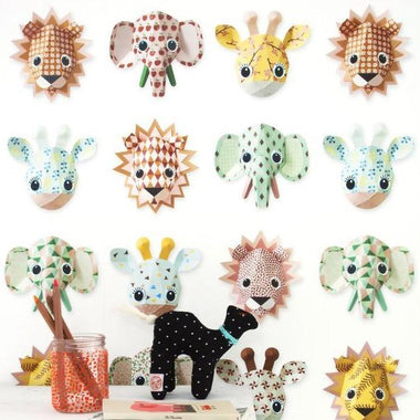 Studio Ditte Behangpapier | Wild animals sweet