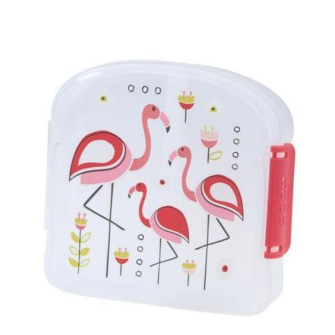 SugarBooger sandwich box Flamingo