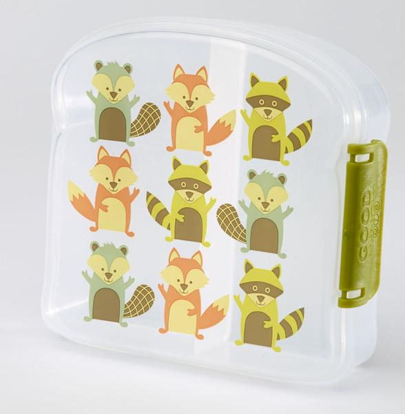 SugarBooger sandwich box What did the fox eat