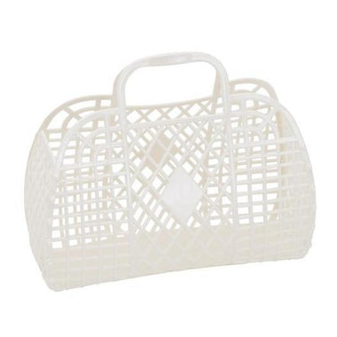 Sunjellies Retro Basket Small - Cream