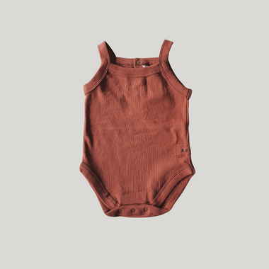 Susukoshi Romper | Burnt Orange