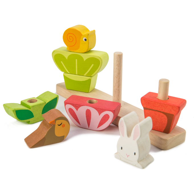 Tender Leaf Toys Stapelspel | Garden
