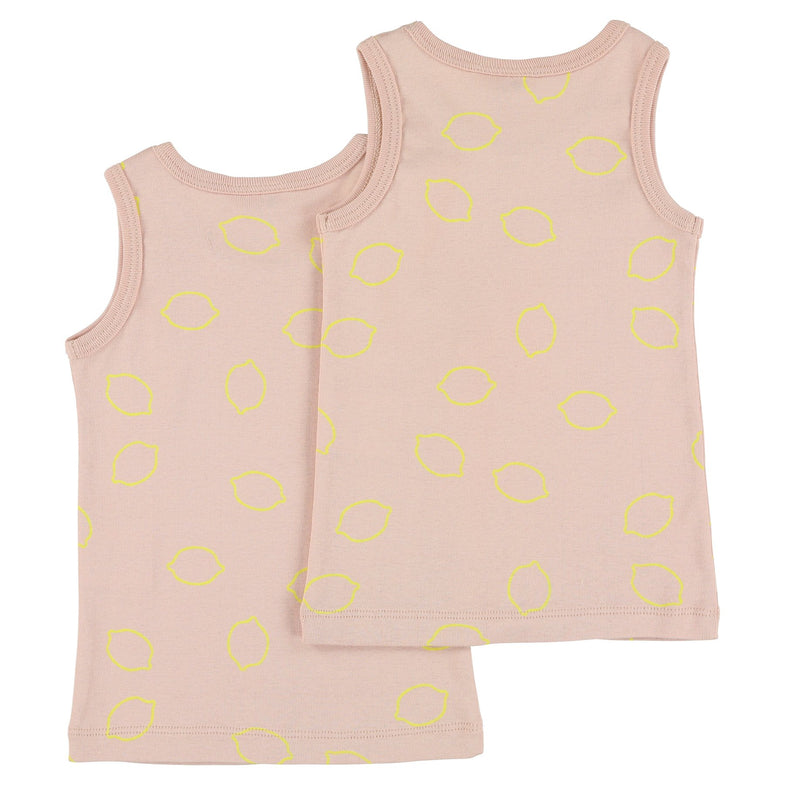 Trixie Singlet 2 pack | Lemon Squash