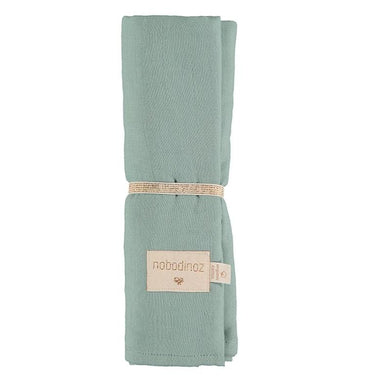 Nobodinoz swaddle 100x120cm Butterfly - Eden Green
