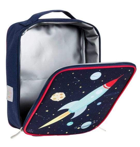 A Little Lovely Company Cool Bag - Thermische Lunch tas - Space